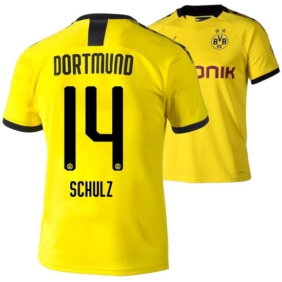 Puma Borussia Dortmund Heim Trikot SCHULZ 2019/2020