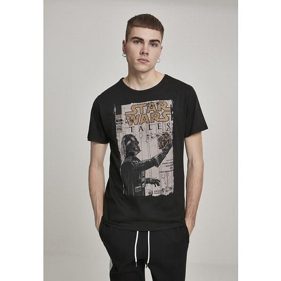 MERCHCODE T-Shirt Star Wars Darth Vader Tales schwarz