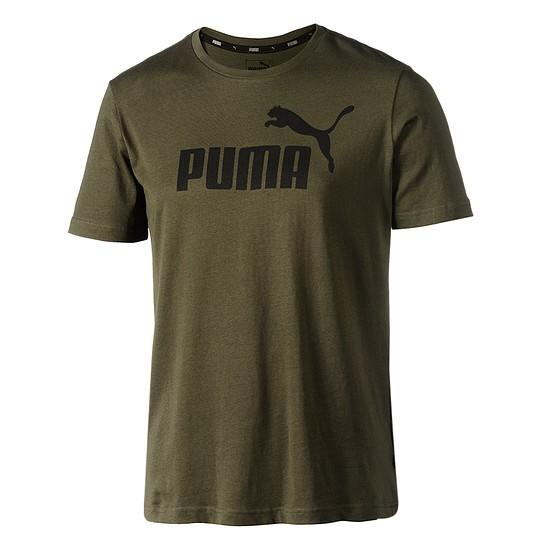 Puma T-Shirt ESS No.1 grün