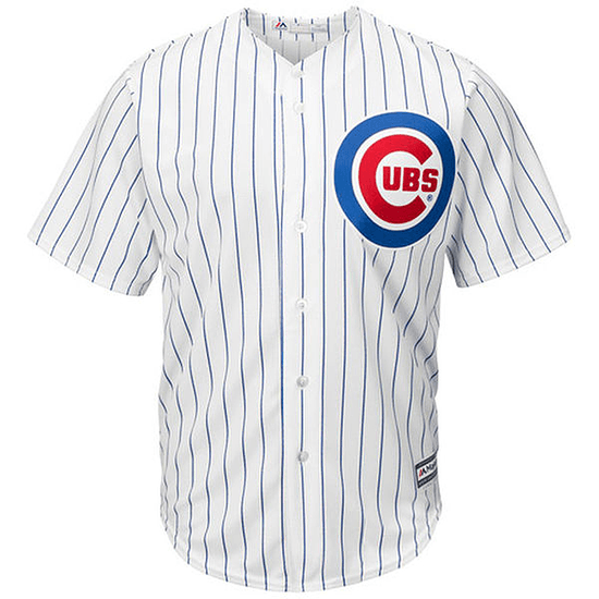 Majestic Athletic Chicago Cubs Replica Cool Base Trikot weiß/blau