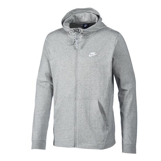 Nike Hoodie Sportswear Grau/Weiß