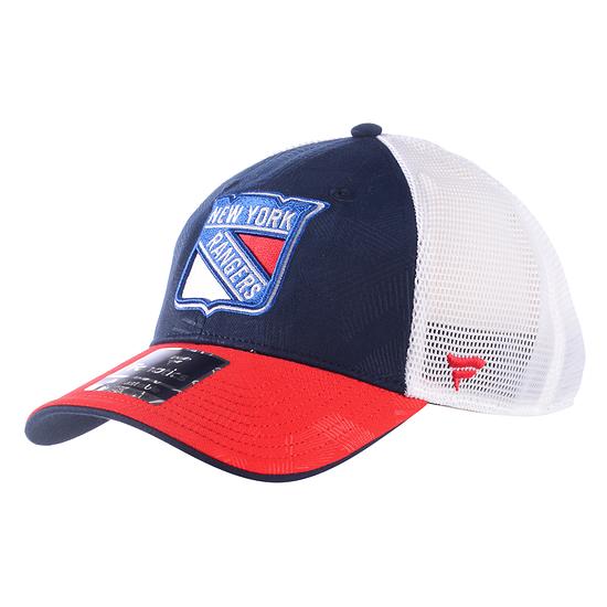 Fanatics New York Rangers Iconic Cap blau/rot