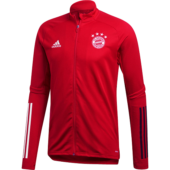 Adidas FC Bayern München Trainingsjacke 2020/2021 Rot