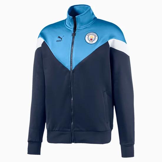 Puma Manchester City Track Jacket Basic Blau