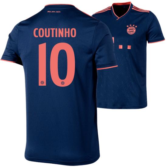 Adidas FC Bayern München CL Trikot COUTINHO 2019/2020 Kinder