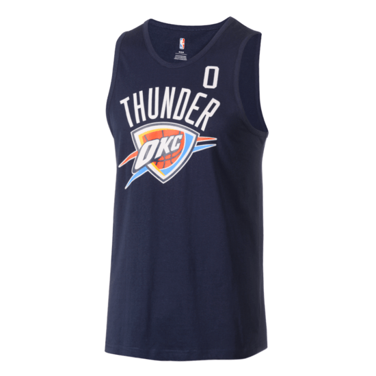 Outerstuff EMEA Oklahoma City Thunders Tanktop Russel Westbrook All Net Basic blau