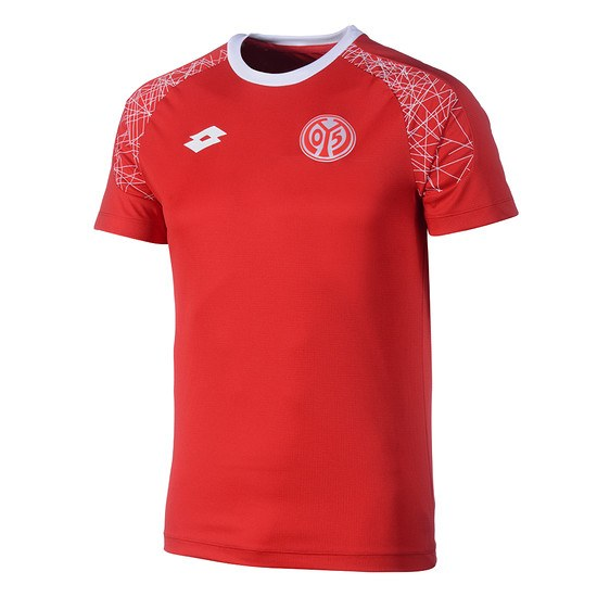 Lotto FSV Mainz 05 Trainingsshirt Rot