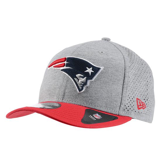 New Era New England Patriots Cap 9FIFTY Shadow Tech grau