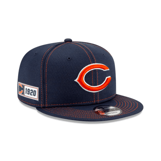 New Era Chicago Bears Cap On Field 9FIFTY blau