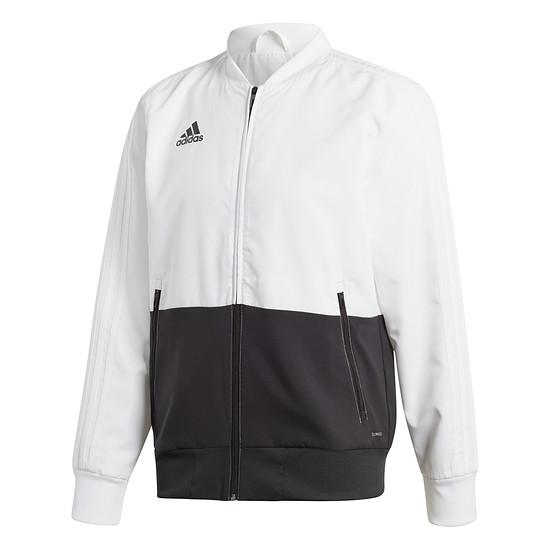 Adidas Freizeitjacke Condivo 18 Weiß/Schwarz