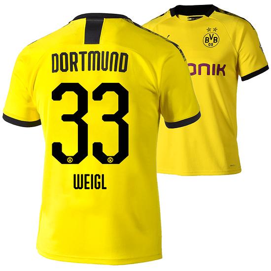 Puma Borussia Dortmund Heim Trikot WEIGL 2019/2020
