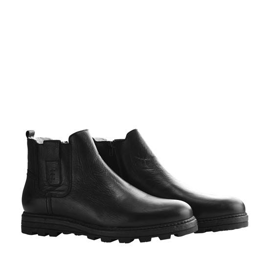 TRAVELIN OUTDOOR Winterboot Rovde schwarz