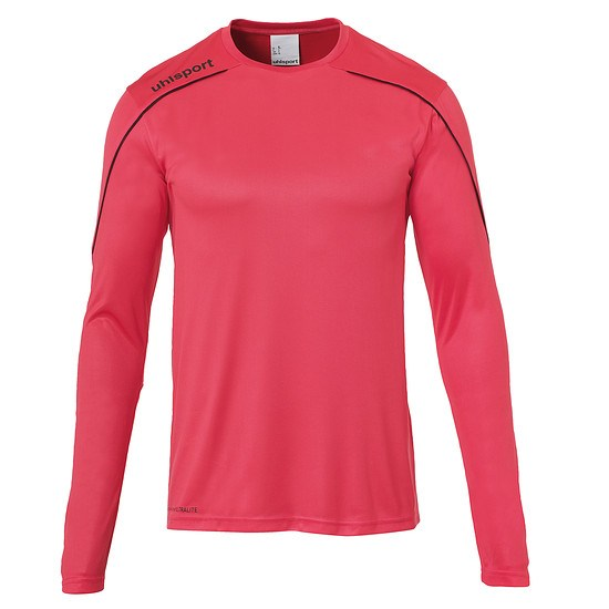 uhlsport Trainingsshirt Langarm Stream 22 pink/schwarz