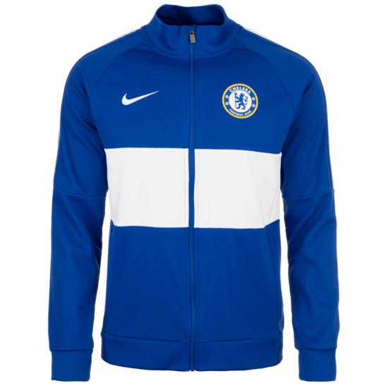 Nike FC Chelsea Trainingsjacke I96 blau/weiß