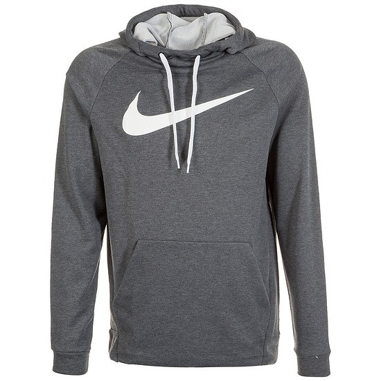 Nike Hoodie Performance Dry Fit Anthrazit