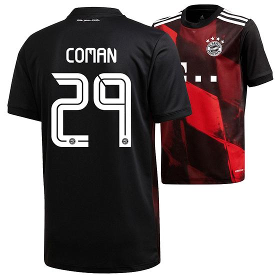 Adidas FC Bayern München CL Trikot COMAN 2020/2021 Kinder
