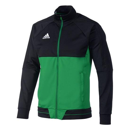 Adidas Trainingsjacke Tiro Kinder Schwarz/Grün