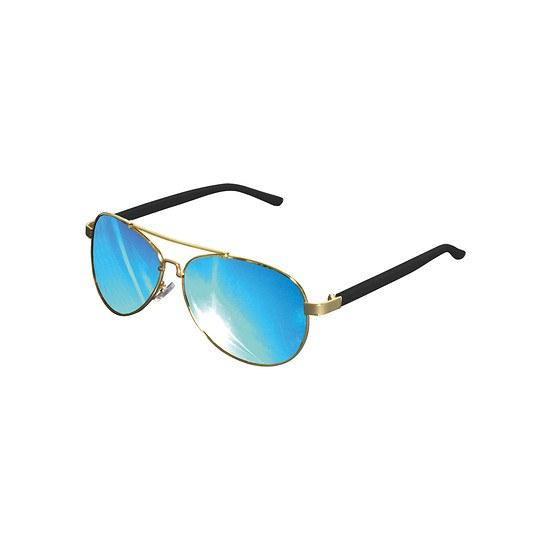MasterDis Sonnenbrille Mumbo gold/blau