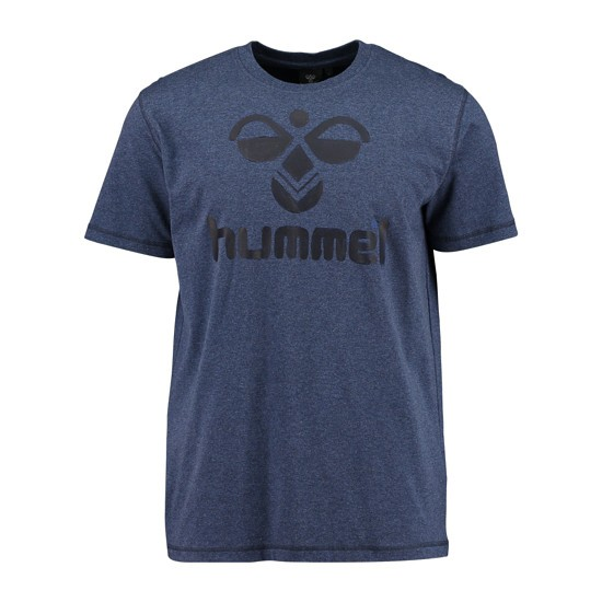hummel T-Shirt Classic Bee Cotton dunkelblau