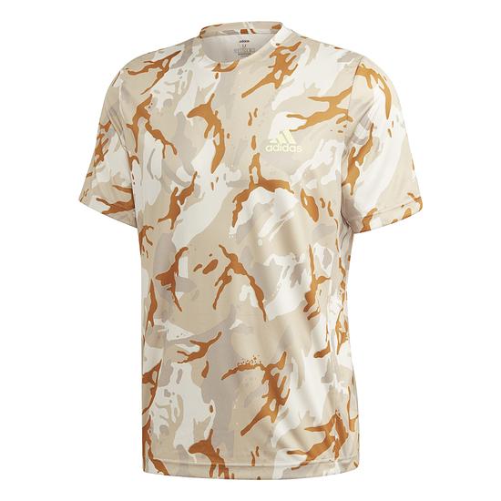 Adidas T-Shirt D2M CAMO khaki