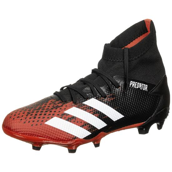 Adidas Fußballschuh Predator 20.3 FG schwarz/rot