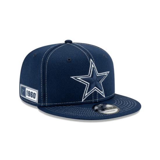 New Era Dallas Cowboys Cap On Field 9FIFTY blau