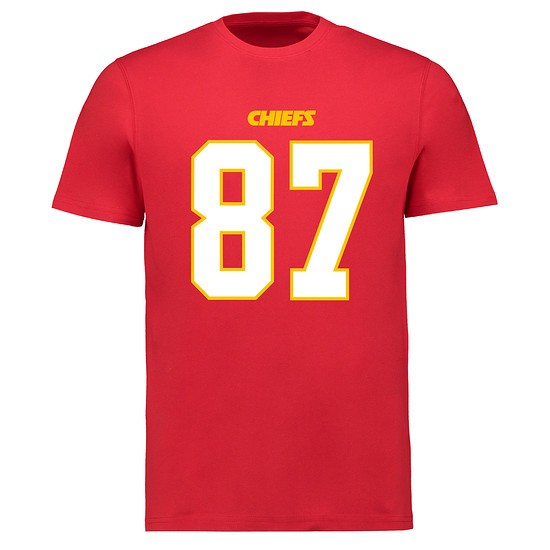 Majestic Athletic Kansas City Chiefs N&N Kelce No 87 rot