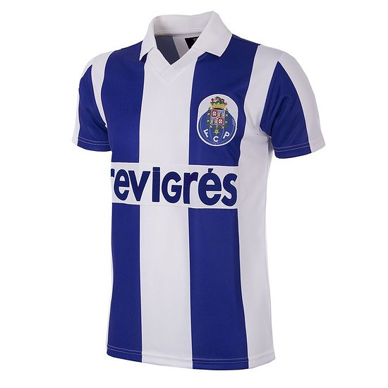 Copa FC Porto 1986/87 Short Sleeve Retro Shirt