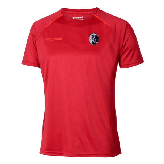 hummel SC Freiburg Trainingsshirt Authentic Pro rot
