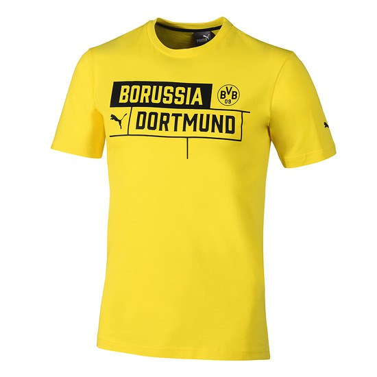 Puma Borussia Dortmund T-Shirt BVB Gelb
