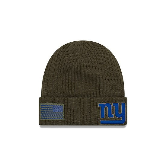 New Era New York Giants Beanie Salute To Service grün