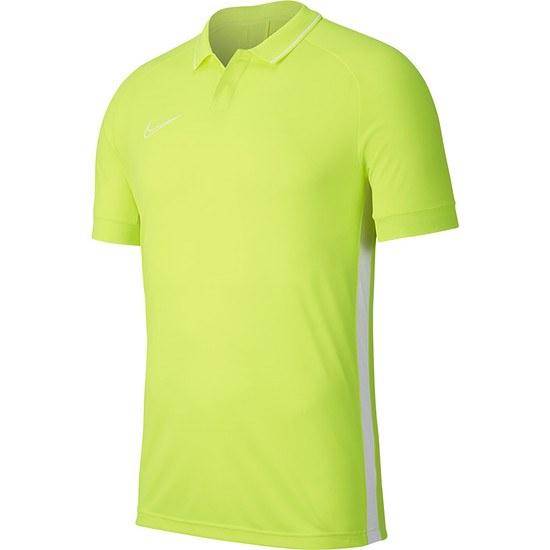 Nike Poloshirt Academy 19 Neongelb