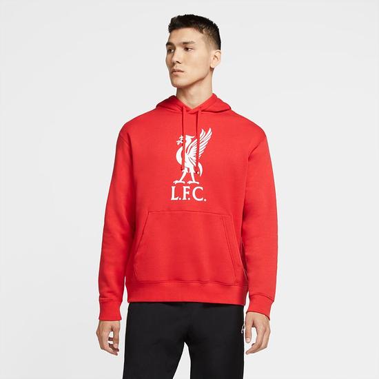 Nike FC Liverpool Hoodie 2020/2021 Rot