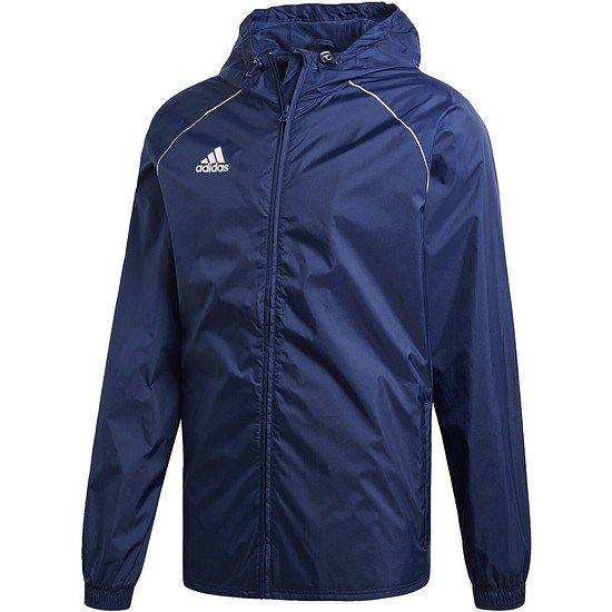 Adidas Regenjacke Core 18 Dunkelblau