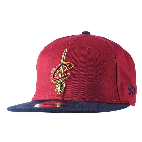 New Era Cleveland Cavaliers Cap Team 9FIFTY rot/blau