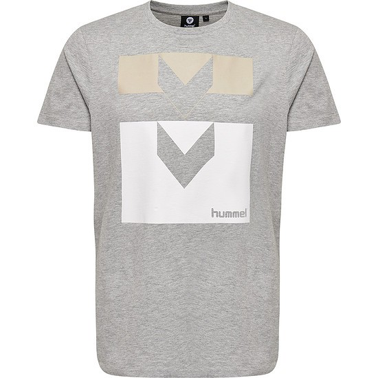 hummel T-Shirt Harald grau