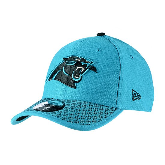 New Era Carolina Panthers Cap Sideline 39Thirty Dots blau