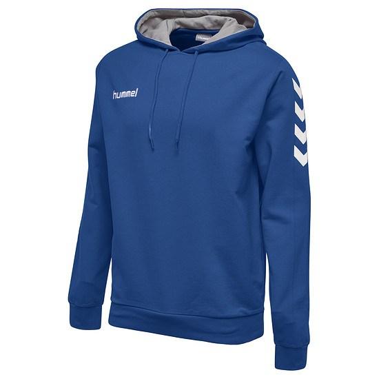 hummel Hoodie Core Cotton blau
