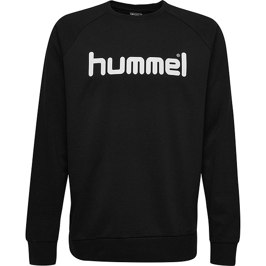 hummel Sweatshirt Go Cotton Logo schwarz
