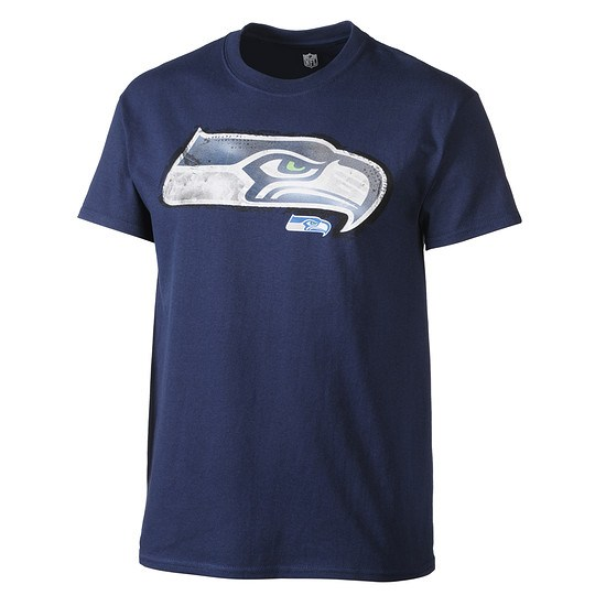Majestic Athletic Seattle Seahawks NFL T-Shirt Line to Gain
