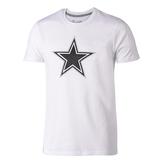 New Era Dallas Cowboys T-Shirt Fan Pack weiß
