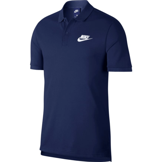Nike Poloshirt Sportswear Basic Dunkelblau
