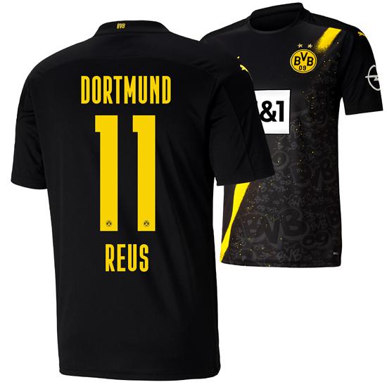 Puma Borussia Dortmund Auswärts Trikot REUS 2020/2021 Kinder