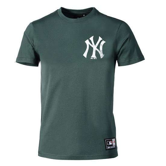 Majestic Athletic New York Yankees T-Shirt Graphic grün