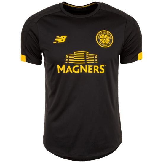 New Balance FC Celtic Glasgow Trainingsshirt On-Pitch schwarz/gelb