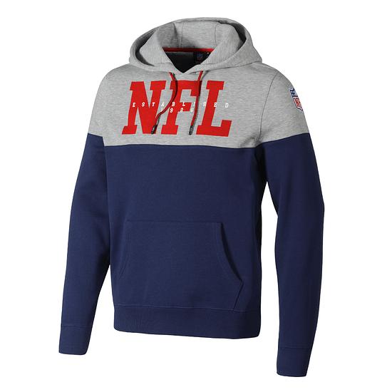 Fanatics NFL Shield Hoodie Cut & Sew navy