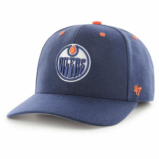 47 Brand Edmonton Oilers Cap Audible MVP DP schwarz