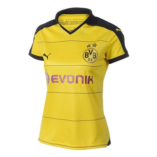 Puma Borussia Dortmund Heim Trikot 2015/2016 Damen