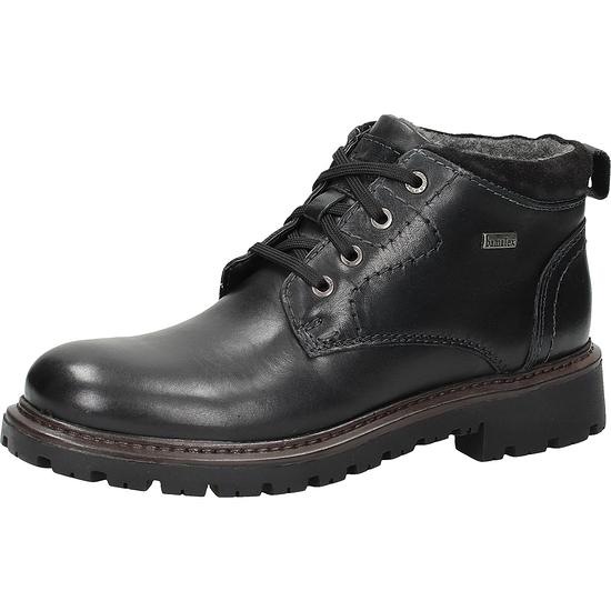 BAMA Stiefelette Leder schwarz