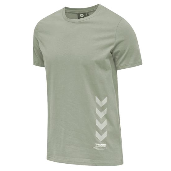 hummel T-Shirt Duncan Bio-Baumwolle vetiver